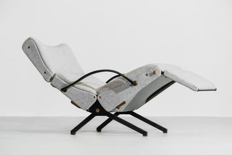 Osvaldo Borsani Lounge Chair Model P40 for Tecno, Italy For Sale 5