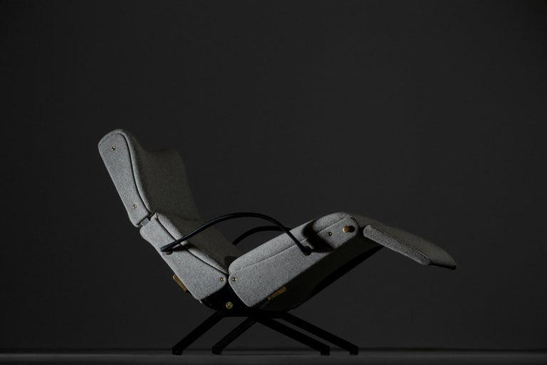 Mid-20th Century Osvaldo Borsani Lounge Chair Model P40 for Tecno, Italy For Sale