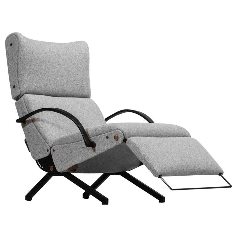 Osvaldo Borsani Lounge Chair Model P40 for Tecno, Italy For Sale