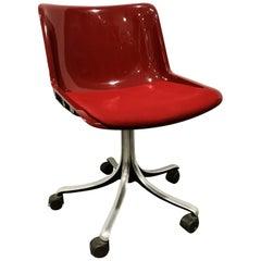 Osvaldo Borsani 'Modus' Desk Chair for Tecno, 1970s '36 Pieces Available'