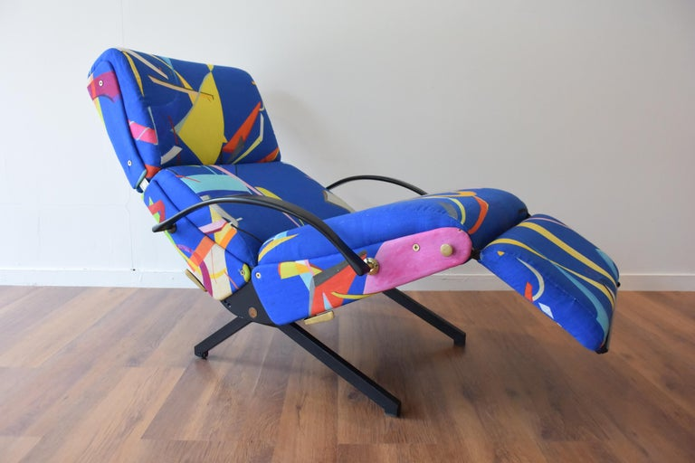Osvaldo Borsani P40 Lounge Chair for Tecno In Good Condition For Sale In Hudson, NY