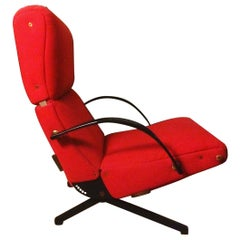 Osvaldo Borsani P40 Lounge Chair from Tecno, Italy, 1950s