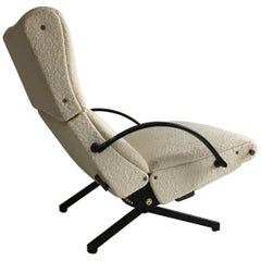 Osvaldo Borsani P40 Reclining Lounge Chair by Tecno, Italy, 1960s