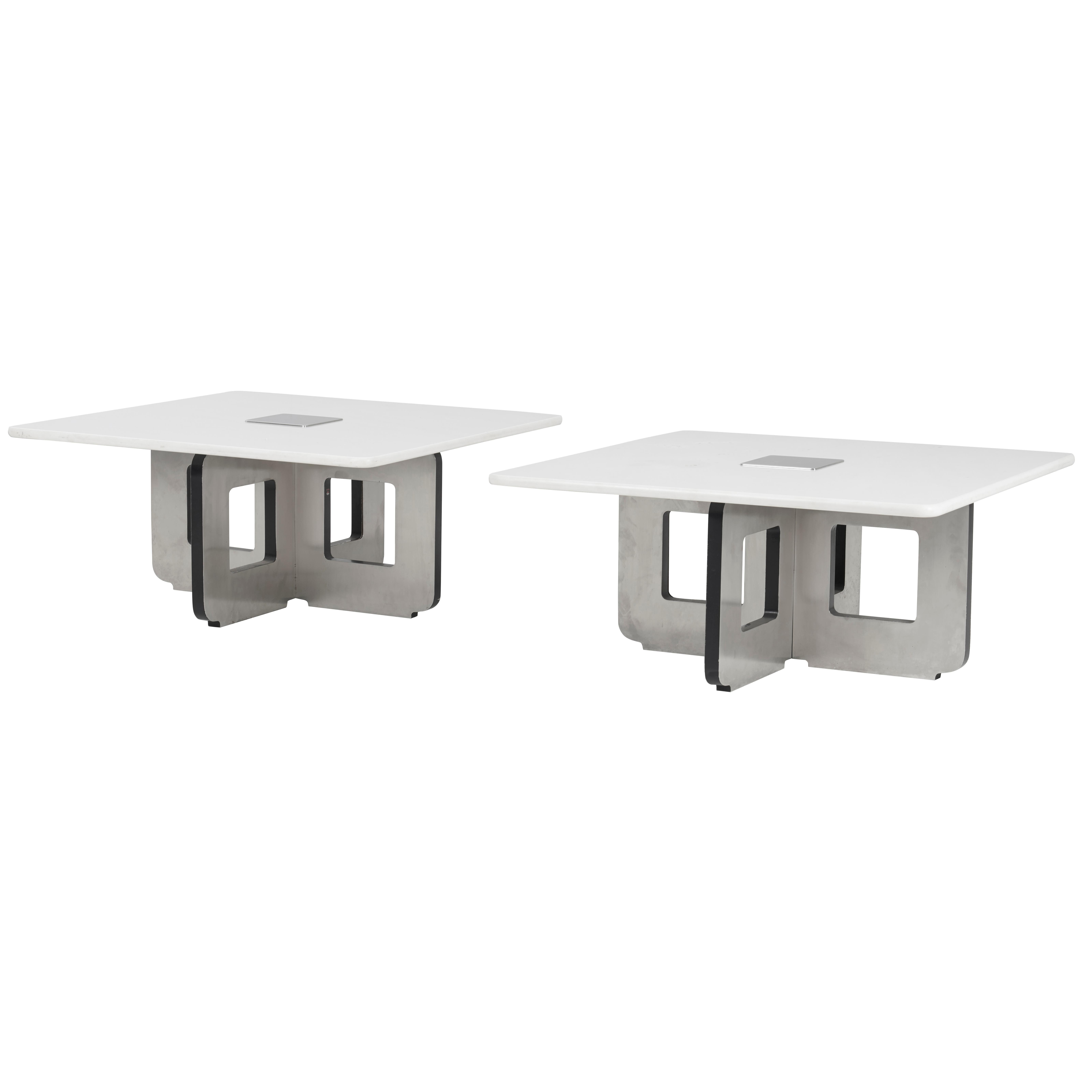 Osvaldo Borsani Pair of Occasional Tables