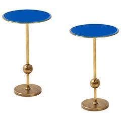 Osvaldo Borsani Rare Pair of T1 Side Tables