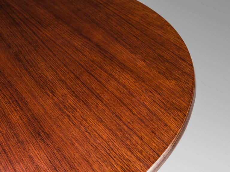 Osvaldo Borsani Rosewood Table for Tecno In Good Condition For Sale In Waalwijk, NL