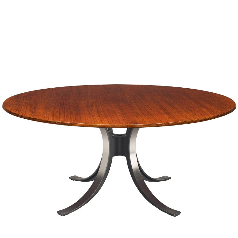 Osvaldo Borsani Rosewood Table for Tecno For Sale
