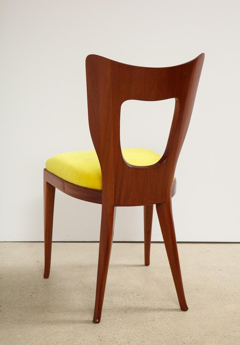 Upholstery Osvaldo Borsani Set of Twelve '12'