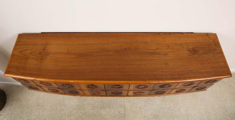 Mid-20th Century Osvaldo Borsani Sideboard For Sale