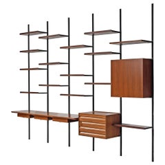 Osvaldo Borsani Wall Unit for Tecno