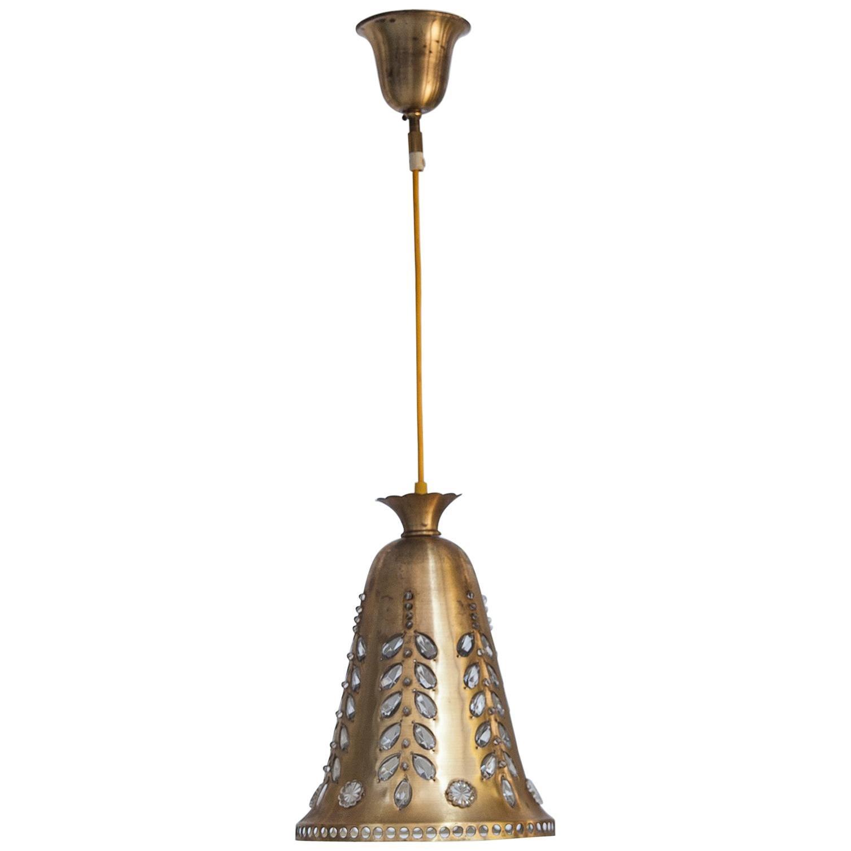 Oswald Haerdtl Cone Ceiling Lamp for Lobmeyr