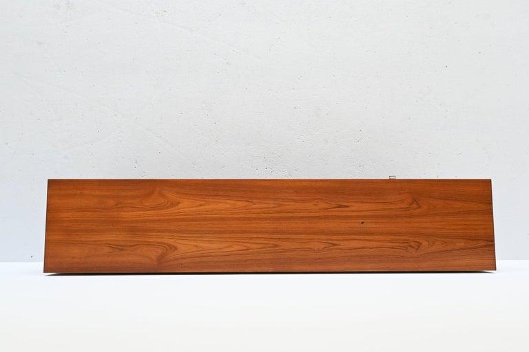 Oswald Vermaercke Model Paola Teak Sideboard V-Form, Belgium, 1959 For Sale 6