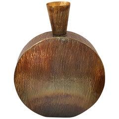 Oswell Medium Vase in Burnt Brass by CuratedKravet