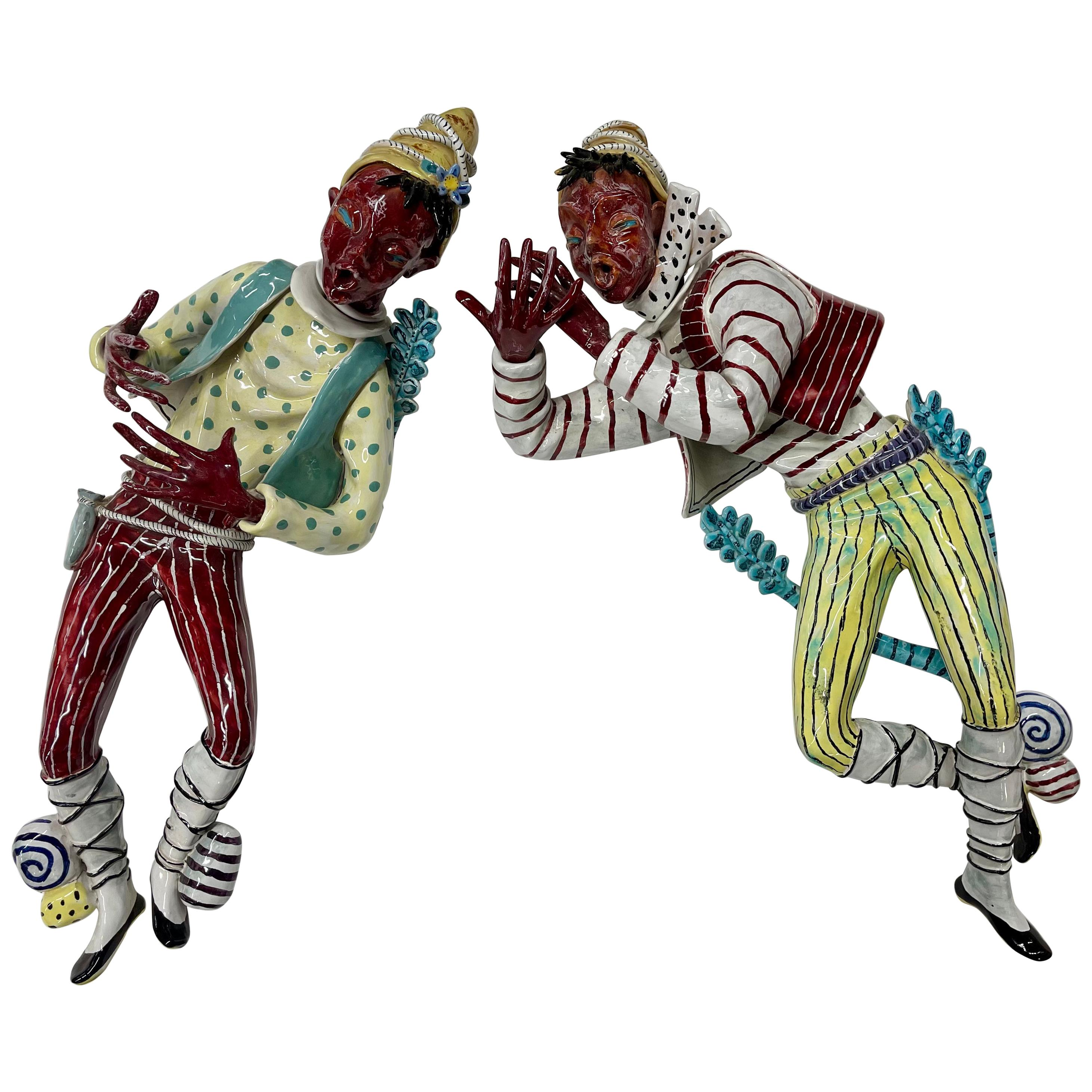 Otello Rosa for San Polo Large Ceramic Minstrels
