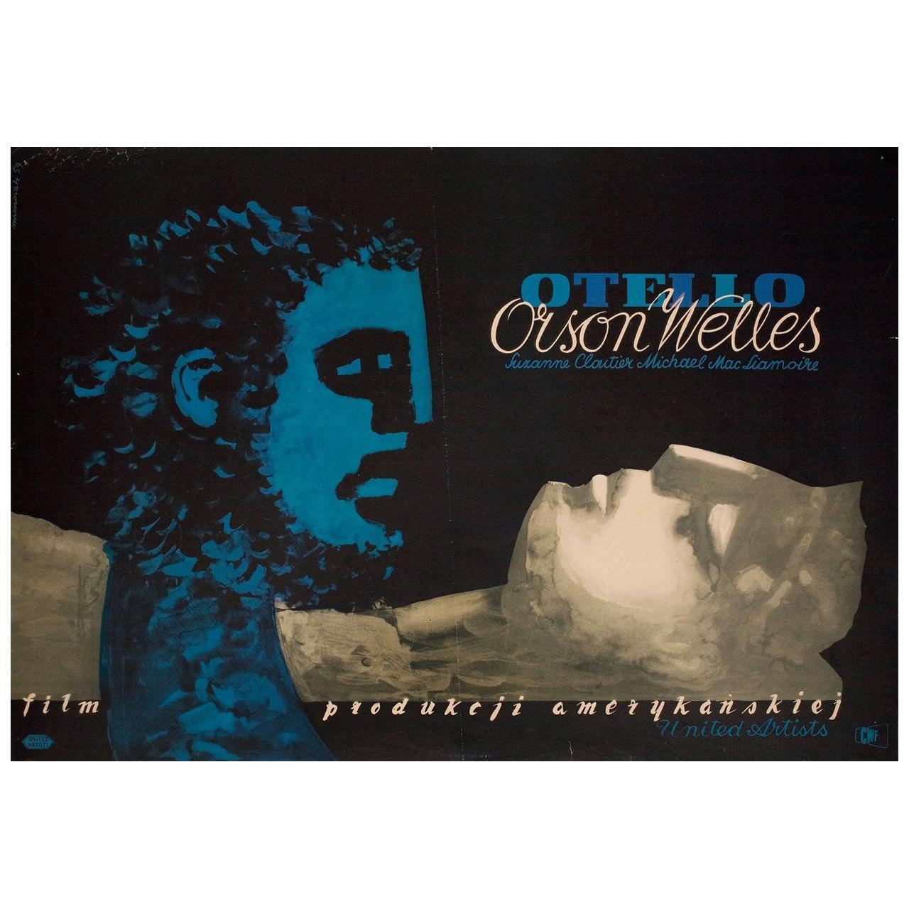 """""""Othello"""" 1959 Polish A1 Film Poster"""