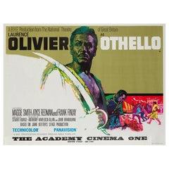 Othello UK Film Poster, 1965