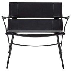 Otran Black Lounge Chair