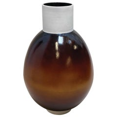 Ott Another Paradigmatic Handmade Ceramic Vase by Studio Yoon Seok-Hyeon