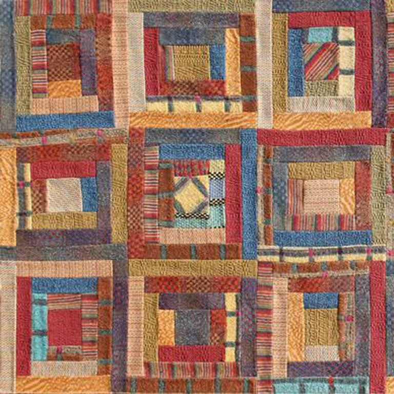 Tapestry, Large woolen Tapestry designed by Missoni - Abstract Geometric Mixed Media Art by Ottavio Missoni