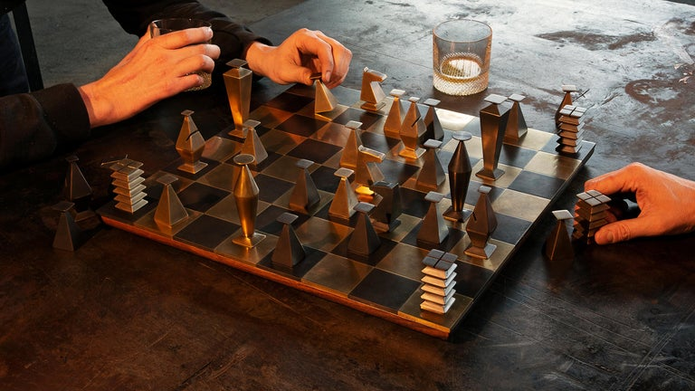 British Otterburn Chess Set For Sale