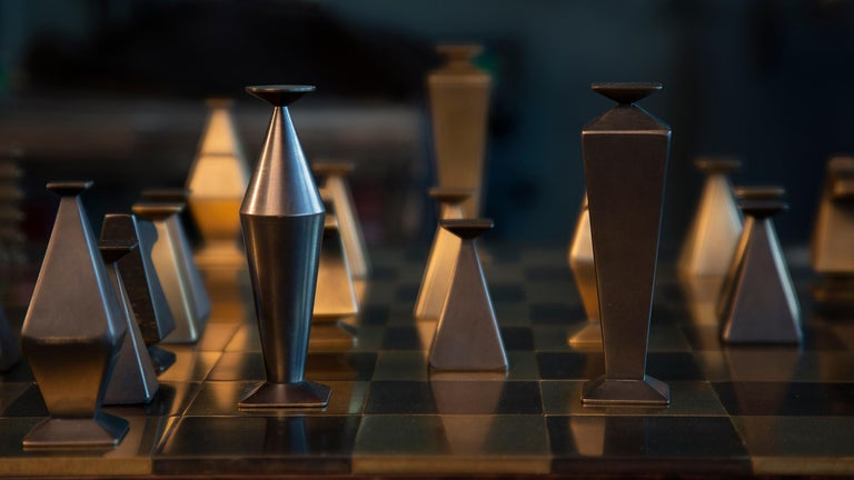 Otterburn Chess Set In New Condition For Sale In Washington, GB