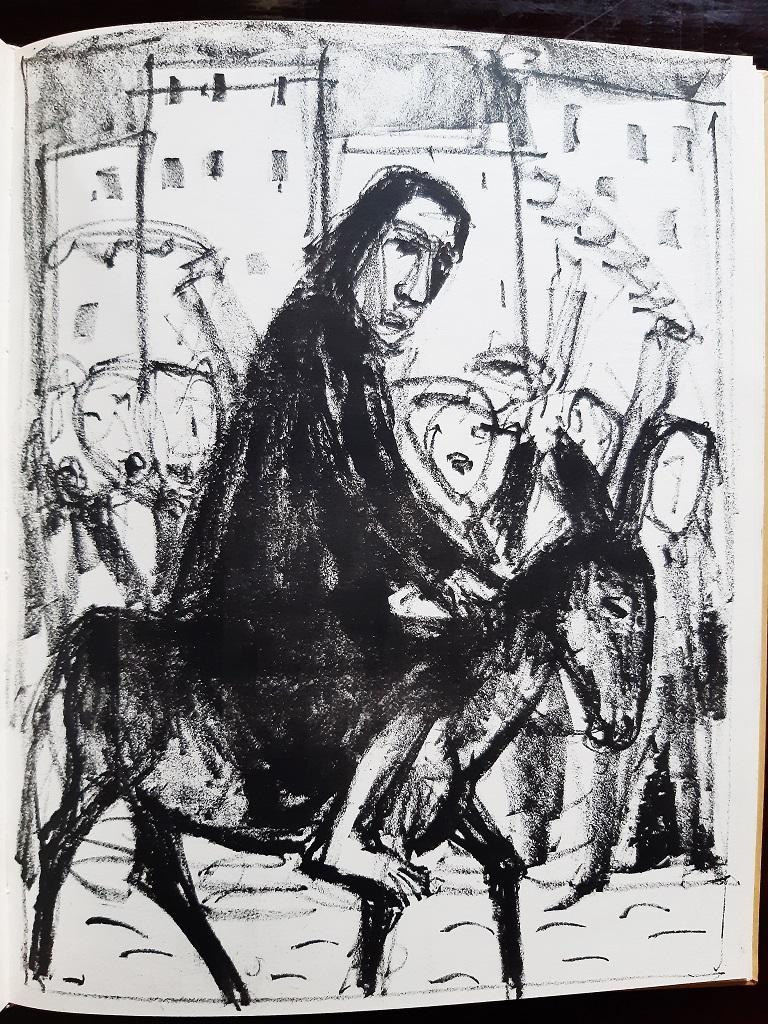 Evangelium nach Matthäus - Rare Book Illustrated by Otto Dix  - 1960 For Sale 1