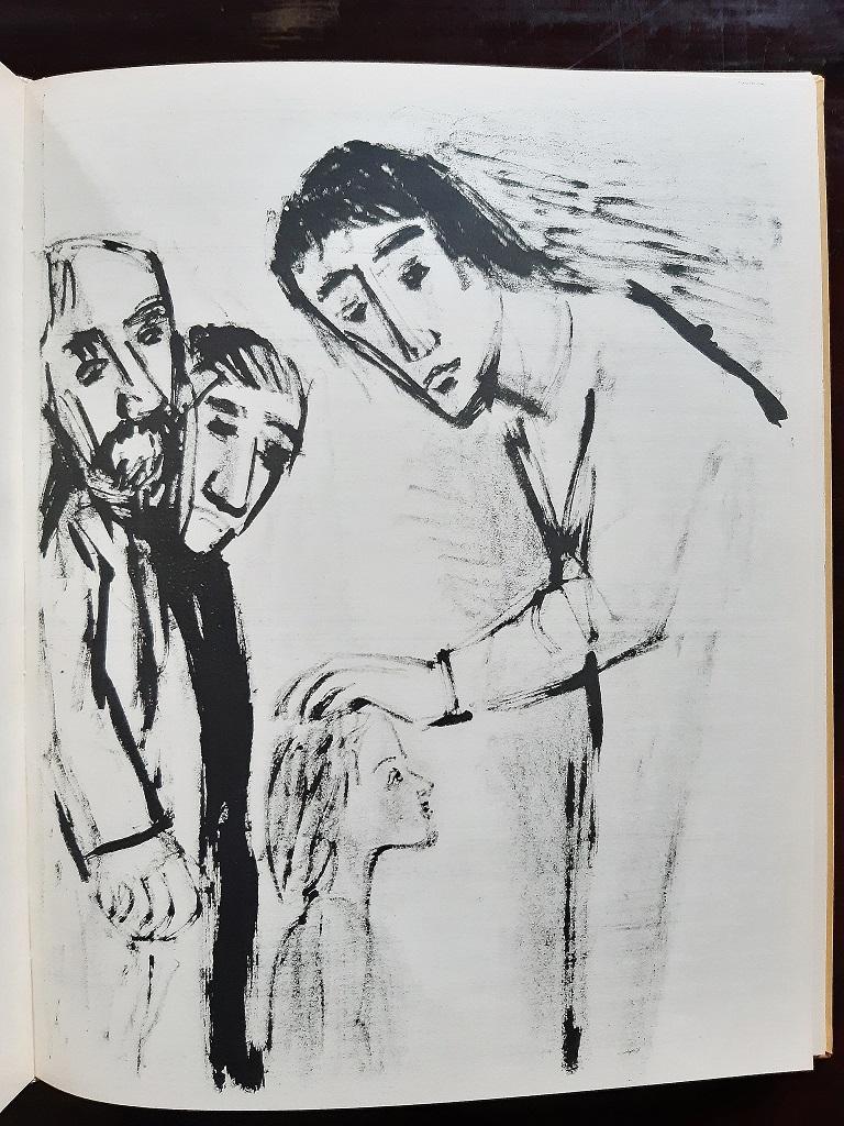 Evangelium nach Matthäus - Rare Book Illustrated by Otto Dix  - 1960 For Sale 4
