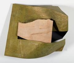 Organic Fold, Contemporary, Abstract, Minimal, Wall Sculpture