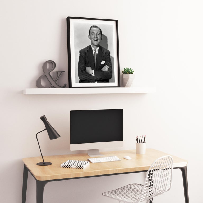 Bing Crosby Laughing with Arms Crossed Fine Art Print For Sale 2