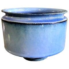 Otto & Gertrud Natzler Signed Mid-Century Modern Bowl with Original Label, 1962