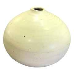 Otto Heino Signed Imperial Chinese Yellow Glaze Vase Vessel