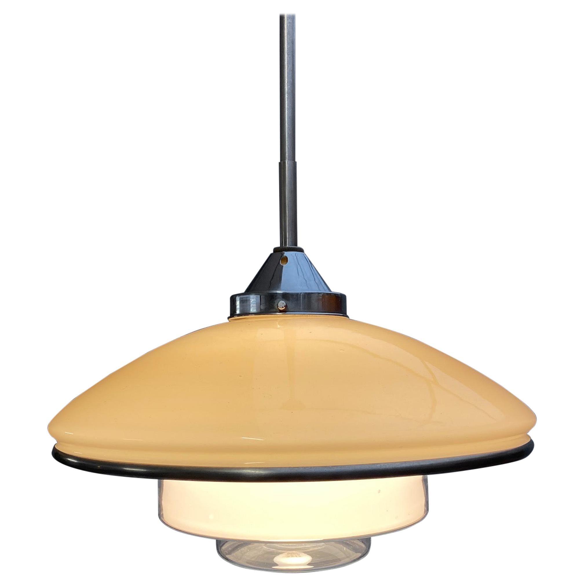 Otto Müller Pendant Light P4 for Sistrah, 1930s
