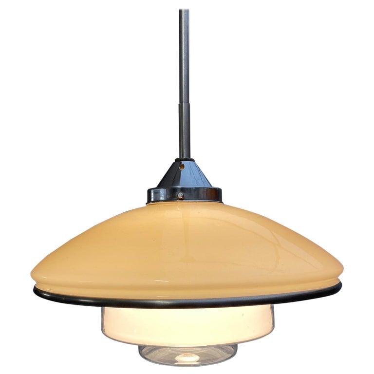 Otto Müller Pendant Light P4 for Sistrah, 1930s For Sale