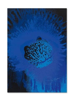 Blue Sun, Abstract Art, Group Zero, Kinetic Artist, 20th Century