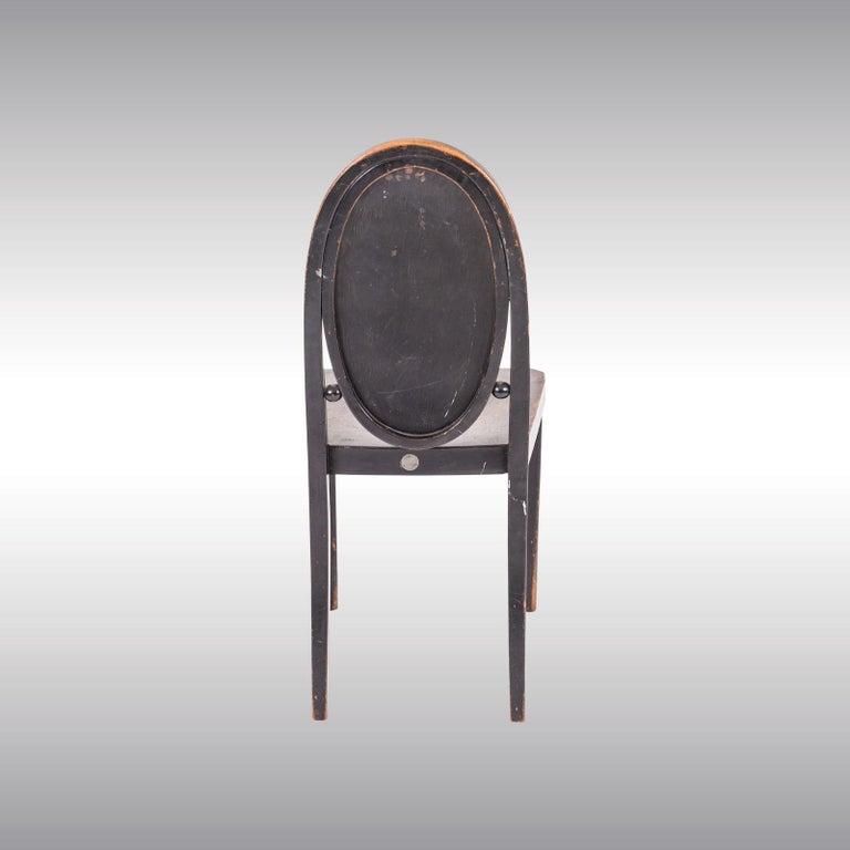 Austrian Original Otto Prutscher&Gebrueder Thonet Vienna Jugendstil Chair 20th Century For Sale