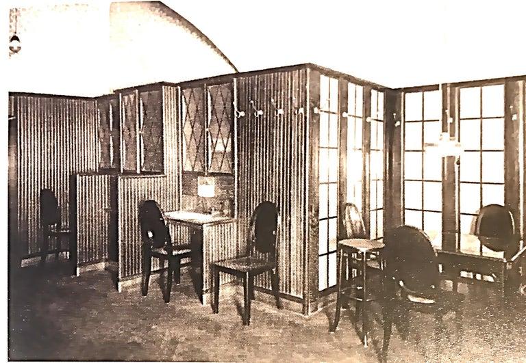 Original Otto Prutscher&Gebrueder Thonet Vienna Jugendstil Chair 20th Century For Sale 1