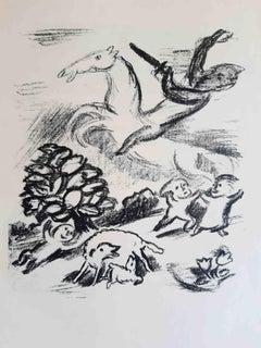 Die Lilienweisse Stute - Original Lithographs by Otto Schubert - 1920