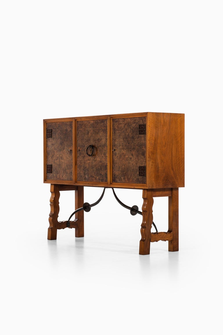 Otto Schulz Cabinet Produced by Boet in Sweden For Sale 5