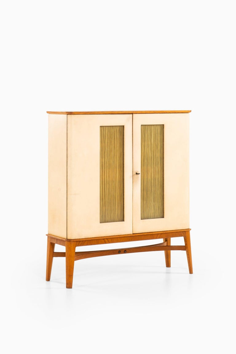 Otto Schulz Cabinet Produced by Boet in Sweden For Sale 1