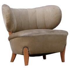 Otto Schulz Chair, Sweden, 1940s