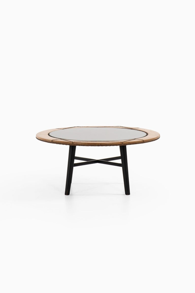 Rare coffee table designed by Otto Schulz. Produced by Boet in Sweden.
