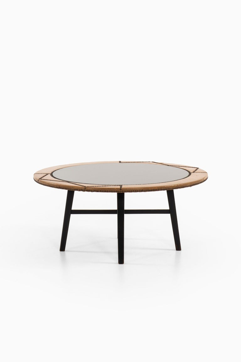 Otto Schulz Coffee Table Produced by Boet in Sweden In Good Condition For Sale In Malmo, SE