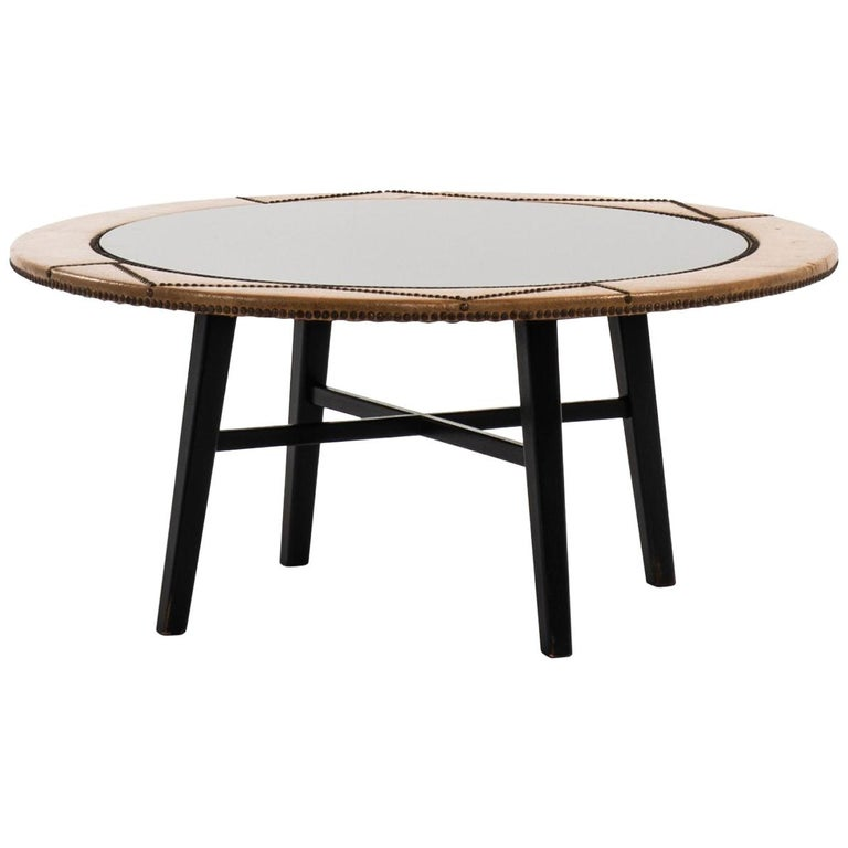 Otto Schulz Coffee Table Produced by Boet in Sweden For Sale