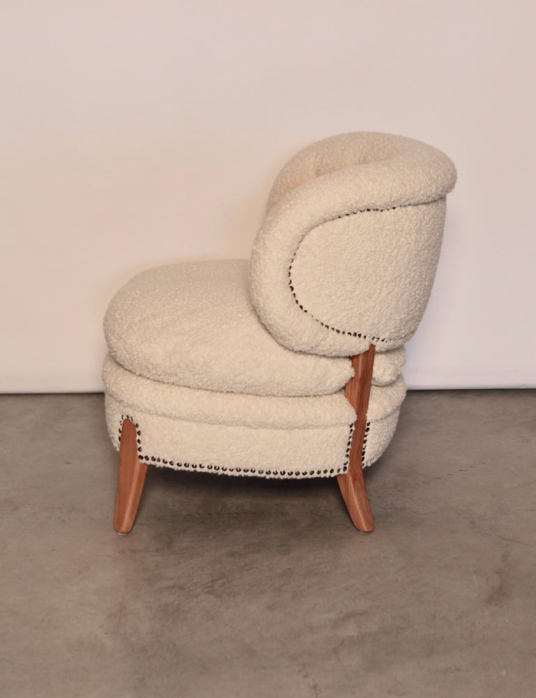 Scandinavian Modern Otto Schulz Easy Chair, Sweden, Produced by Boet, 1940s For Sale
