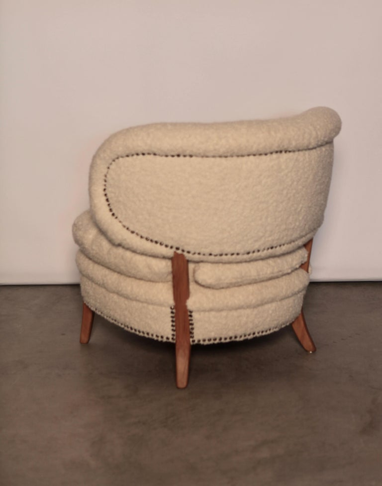 Swedish Otto Schulz Easy Chair, Sweden, Produced by Boet, 1940s For Sale