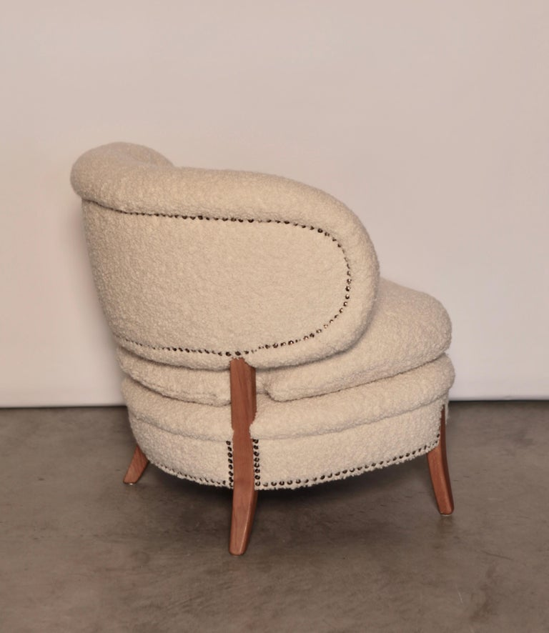 Otto Schulz Easy Chair, Sweden, Produced by Boet, 1940s In Excellent Condition For Sale In , DE