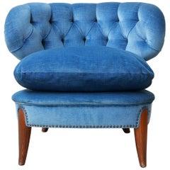 Otto Schulz Swedish Mid-Century Easy Lounge Chair