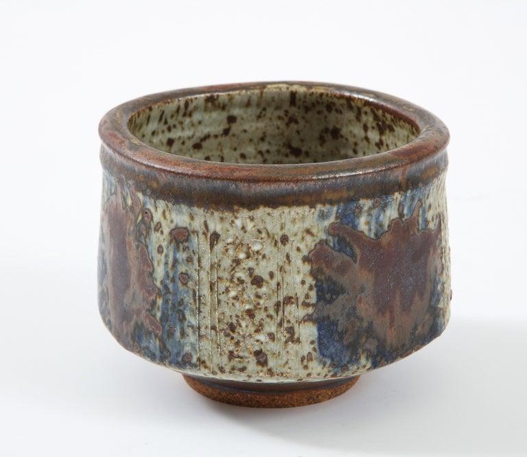 Mid-Century Modern Otto & Vivika Heino Stoneware Bowl For Sale