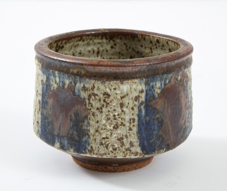Otto & Vivika Heino Stoneware Bowl In Excellent Condition For Sale In Brooklyn, NY