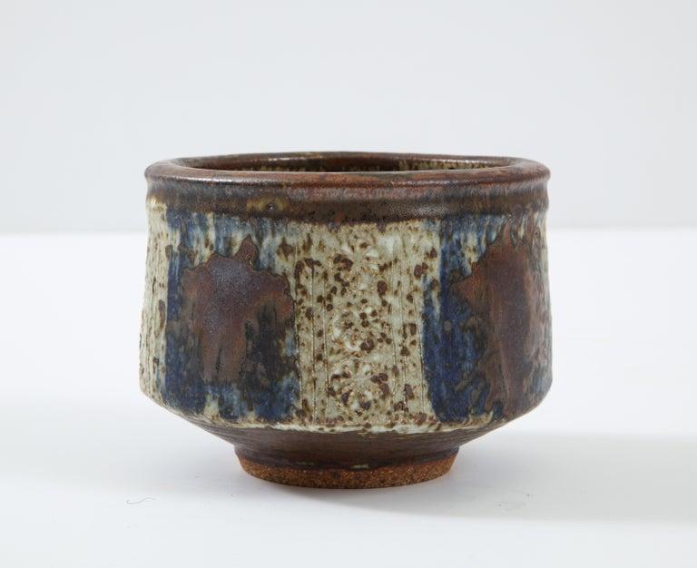 Mid-20th Century Otto & Vivika Heino Stoneware Bowl For Sale